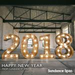 Start the New Year with a Sundance Hot Tub