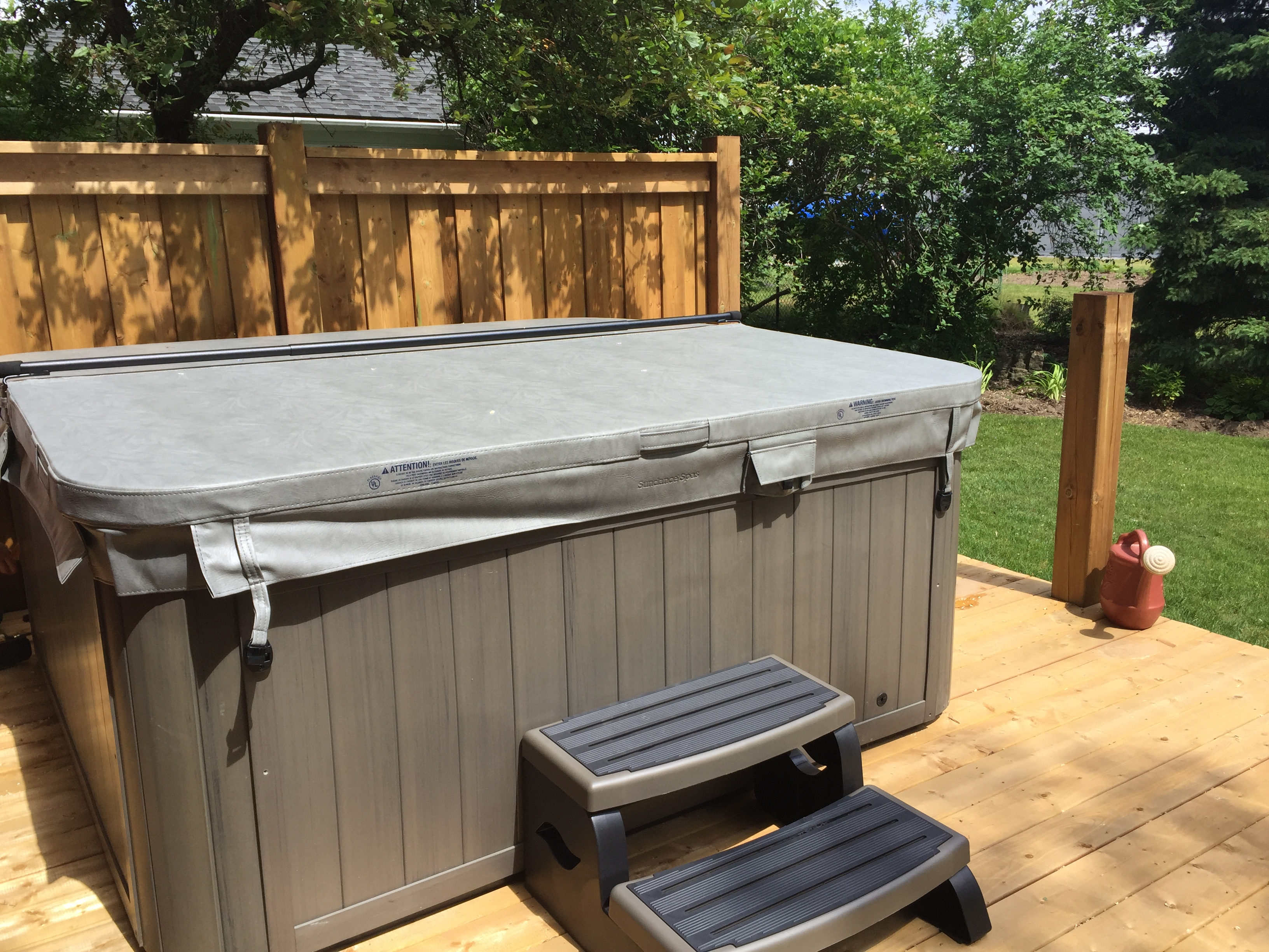 do hot decor deck removal to diy drunken how builds around in yourself with the build a home tub it