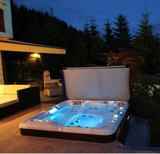 cottage hot tub and spa installation 1