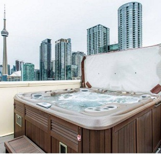 Toronto hot tub and spa installation 2