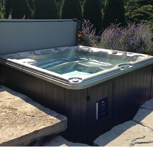 Personal hot tub and spa installation 20