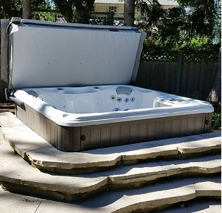 Luxury hot tub and spa installation 21