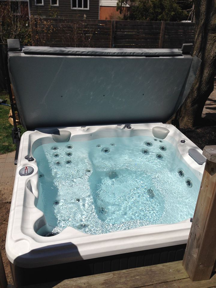 Oakville hot tub and spa installation 57