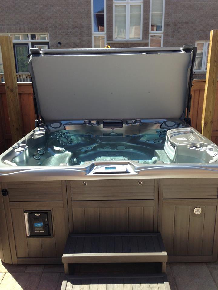 Burlington hot tub and spa installation 56