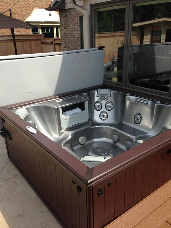 Fall hot tub and spa installation 39