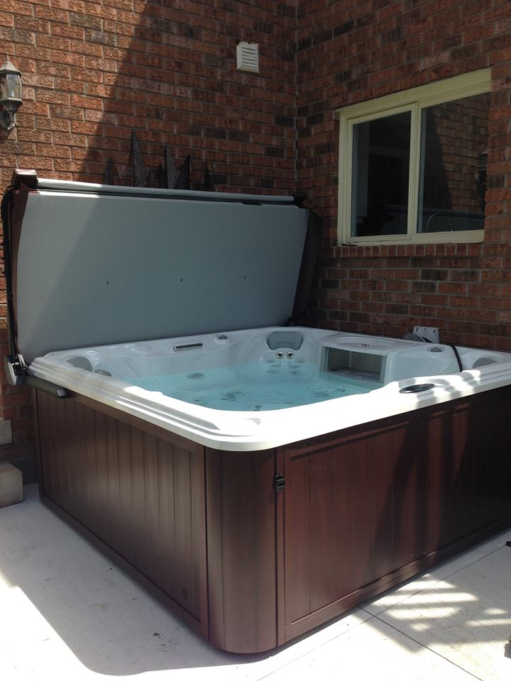 Oakville hot tub and spa installation 48
