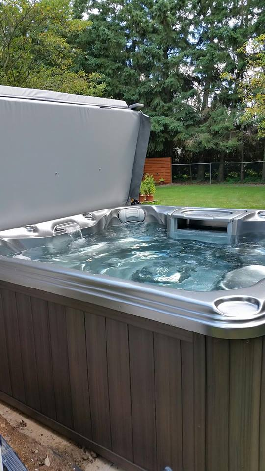 Brampton hot tub and spa installation 34