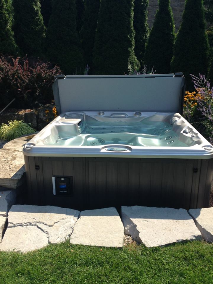 Hamilton hot tub and spa installation 55