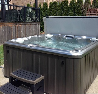 St. Catharines hot tub and spa installation 16