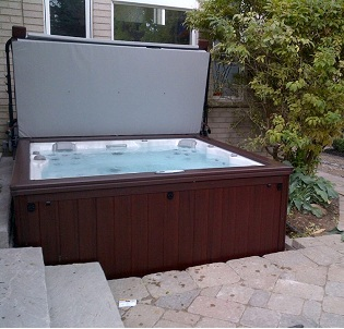Hamilton hot tub and spa installation 18