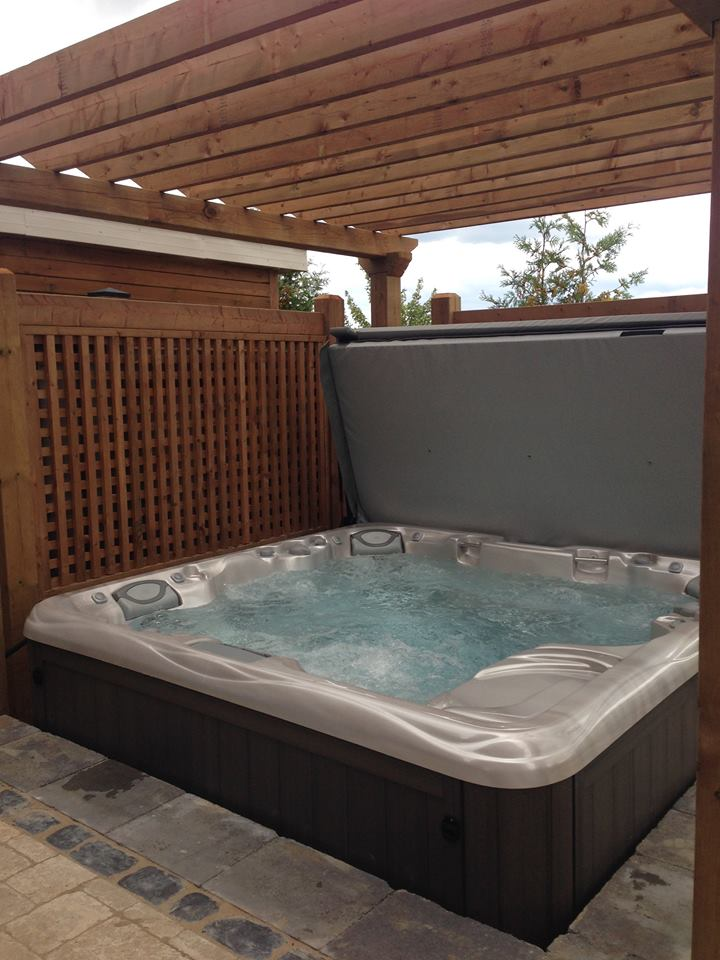 Ancaster hot tub and spa installation 27