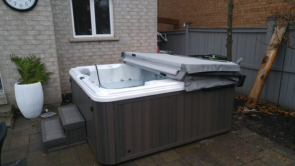 Toronto hot tub and spa installation 61