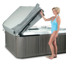 Sundance Spas Hot Tub Cover Lifters Burlington, Oakville, Mississauga, Vaughan, Toronto and St. Catharines 1