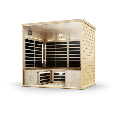 Image 1 for S840 4-Person Infrared Sauna at The Sundance Spa Stores